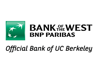 Bank of the West BNP Paribas, Official Bank of UC Berkeley